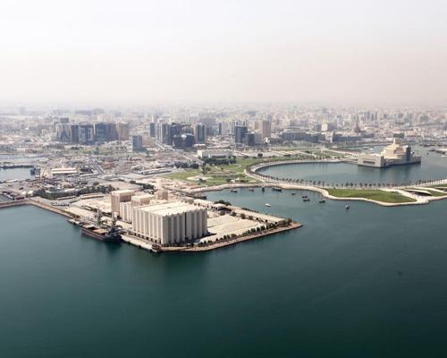 The Art Mill will be located on a prime waterfront site in Doha, Qatar / Malcolm Reading Consultants
