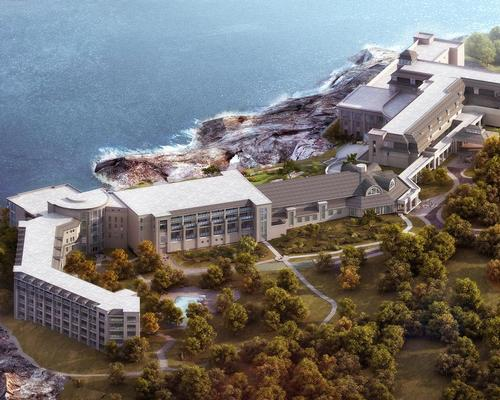 Set on 70 oceanfront acres atop Bald Head Cliff on the southern coast of Maine, US, Cliff House Resort is undergoing a landmark transformation