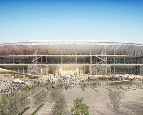 The new-look Camp Nou will be integrated with the city and the club's new Espai leisure district / FC Barcelona