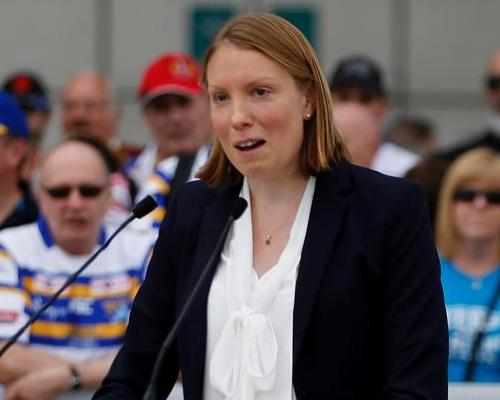 Sports minister Tracey Crouch unveiled <i>Sporting Future</i> last December / Press Association