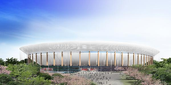 Ito's proposal for Japan's New National Stadium / Ito, Nihon, Takenaka, Shimizu, Obayashi