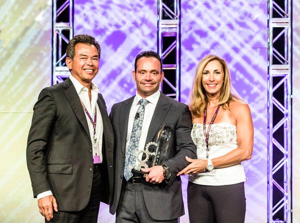 The Bricks won the inaugural Planet Fitness franchisee of the year award