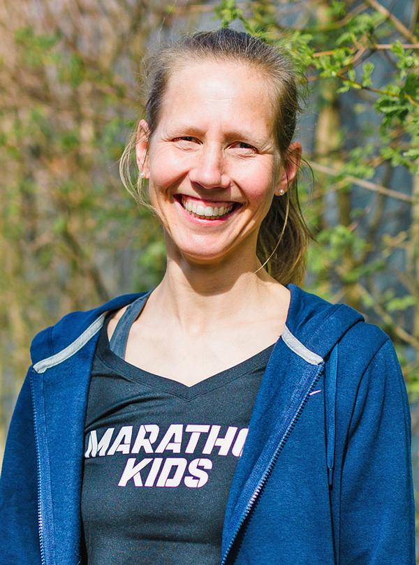Martine Verweij co-founded Kids Run Free in 2011 with business partner Catherine O'Carroll