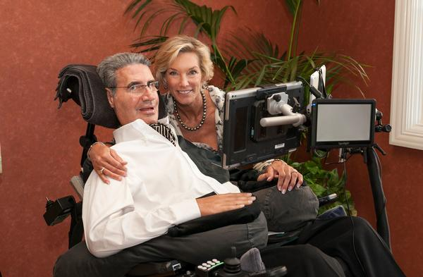 Augie and Lynne Nieto founded Augie's Quest to find a cure for ALS / PHOTO: ©Lynne Nieto