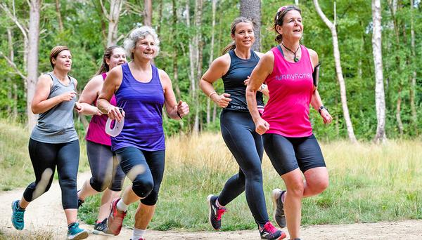 The Runnyhoneys are a running group based in Bordon / © mike ellis/nhs england