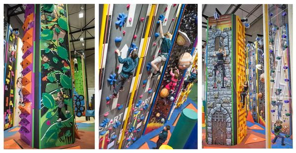 Rossendale Leisure Trust adapted Haslingden Sport Centre to include Grip & Go – something that has proven very popular with local families