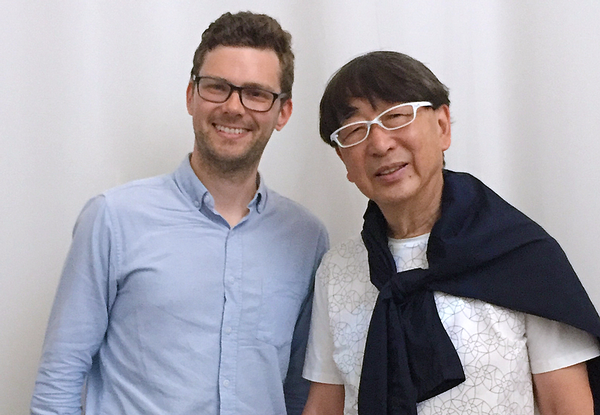 Ito with CLADmag contributing editor Kim Megson at the Venice Biennale