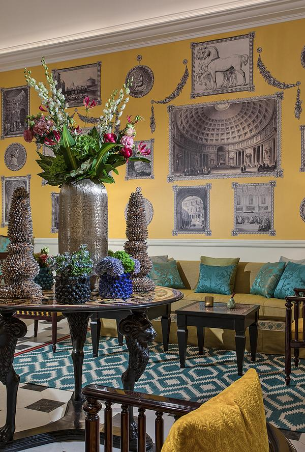 The hotel features two restaurants and two bars, including the Julep Herbal & Vermouth Bar