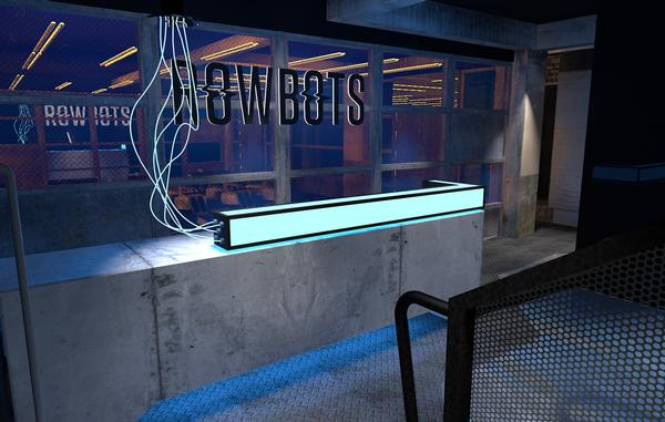 Rowbots will focus on high-end training, with rowing and floor work at the core of the concept
