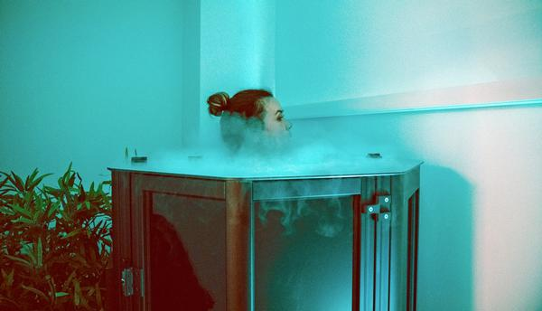 BKBX features a recovery space with cryotherapy and infra-red sauna