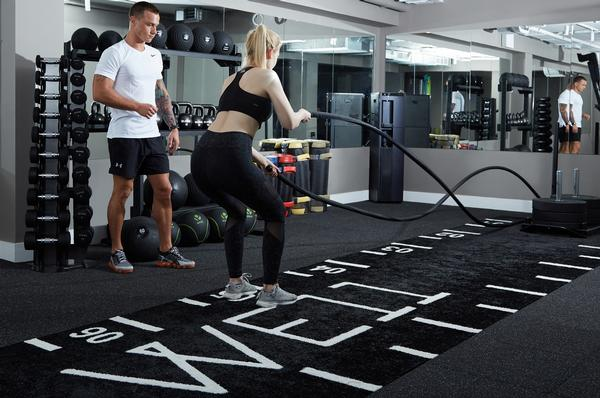 Clients can train with their favourite PT without having to be a member of a particular gym