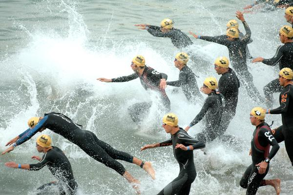 Open water swimming is a growing area of the sport, with Swim England exploring ways to encourage participation / © shutterstock/Maxisport