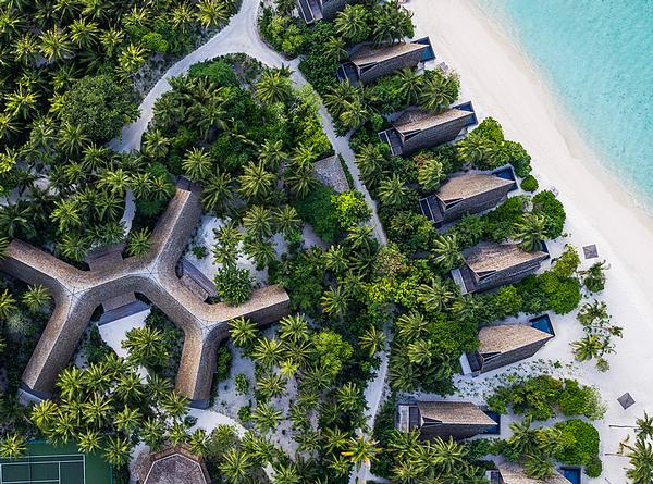 The St Regis Maldives resort was designed around local ecologies