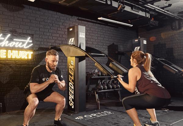 The Speedflex workout is non-DOMS, so people can work out more regularly