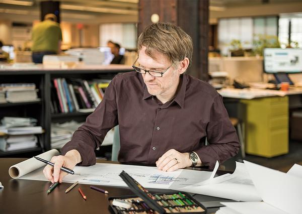 Polzin is one of eight firm leaders at CannonDesign. He has a special interest in community projects / Photo: CannonDesign/Laura Peters