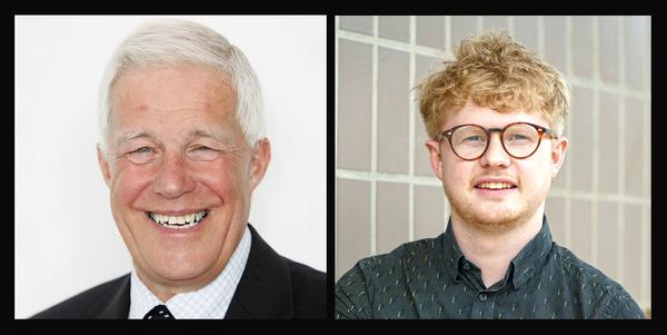 Left: Charles Johnston is director of property at Sport England. Right: Joseph Carr is an associate at David Lock Associates