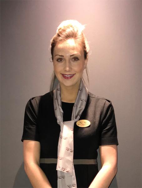 Emily Desborough, Retail Assistant Manager , Aqua Sana at Center Parcs, Longleat