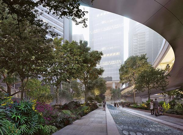 Taikoo Place has been designed to offer a calm haven within the city