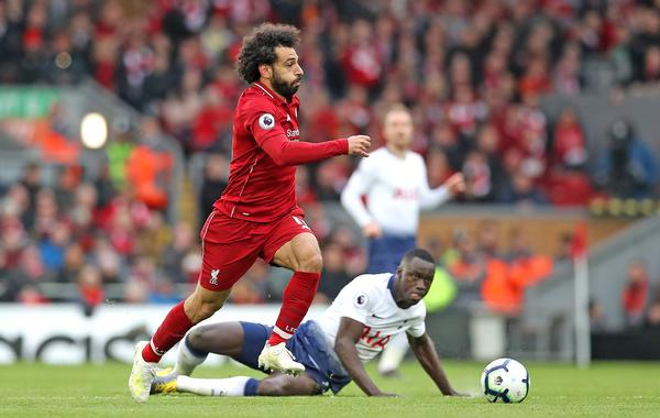 "Mohammed Salah was targeted by Chelsea fans, who sang ""Salah is a bomber"" in a recent video / © Martin Rickett/PA Wire/PA Images"