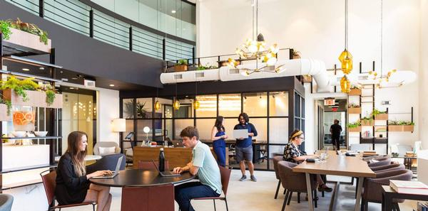 Co-working space: the next upsell for health clubs / PHOTO: INDUSTRIOUS