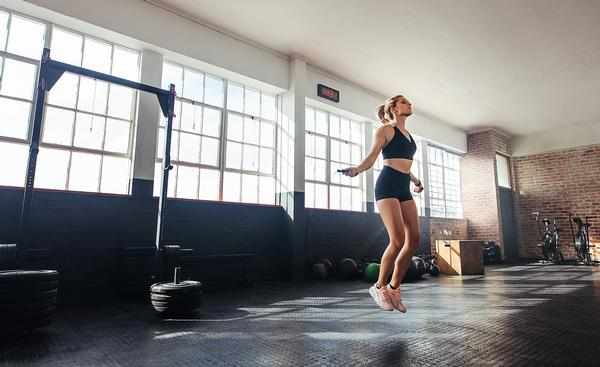 High impact, jumping workouts are an effective bone loading activity / Jacob Lund/shutterstock