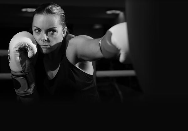 At her peak, Brown was ranked number three in the world. She retired from boxing in 2007 / PHOTO: COURTESY OF THIRD SPACE