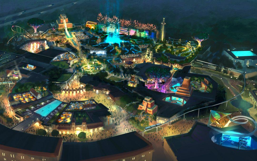 Once opened, the park is expected to attract annual visitor numbers of around 4.5 million