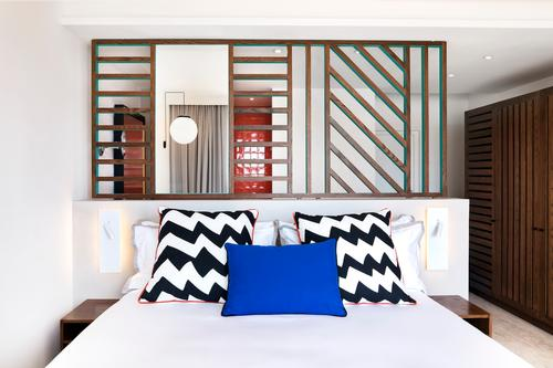Because the brand is committed to doing things differently, it brought on Walala – an artist rather than an interior designer – to create the interiors