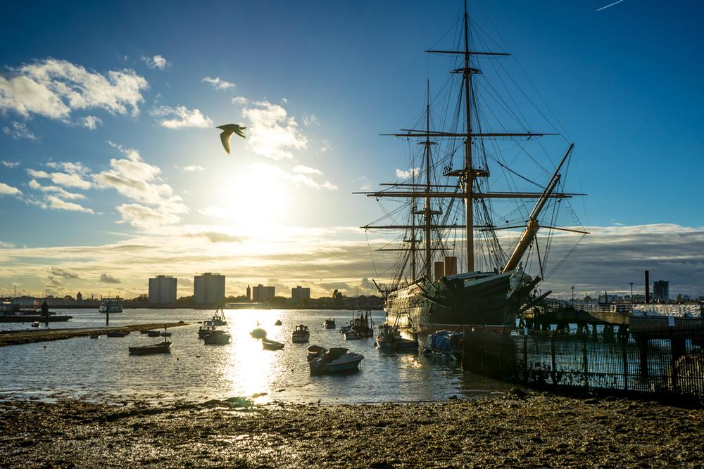 Portsmouth Historic Dockyard will offer free entry between 3-9 December / Shutterstock.com
