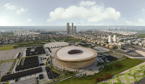 Lusail Stadium has been described as the