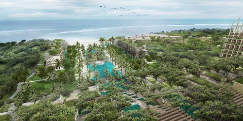 The new resort will be located in Bali, Indonesia. / Courtesy of Apurva Kempinski
