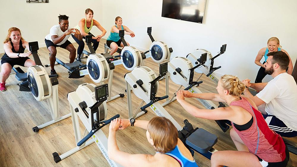 The classes are designed to appeal to people looking for new forms of group exercise