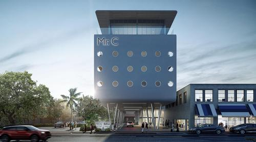 Mr. C Coconut Grove draws both on Floridian and Italian visual influences. / Courtesy of Mr. C Hotels