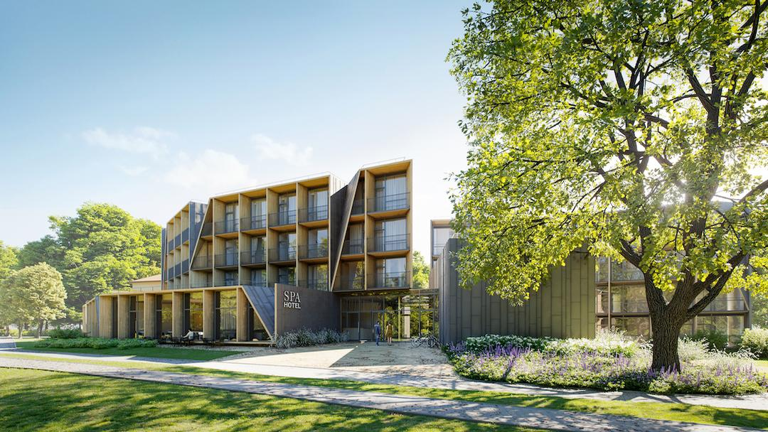 The Amberton Green Spa Druskininkai will open in Q3 2019 in southern Lithuania
