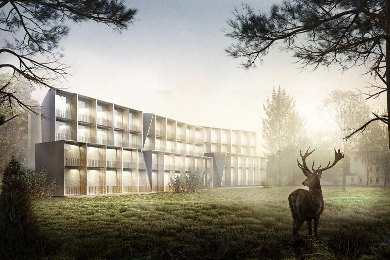 The hotel will include 78 bedrooms and a spa with a focus on sleep