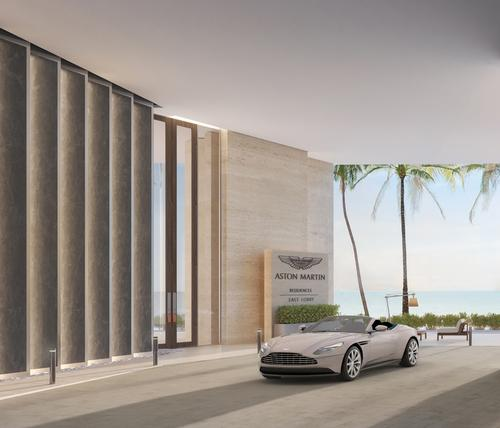 Aston Martin was often the car brand of choice for the fictional spy James Bond. / Courtesy of Aston Martin Residences