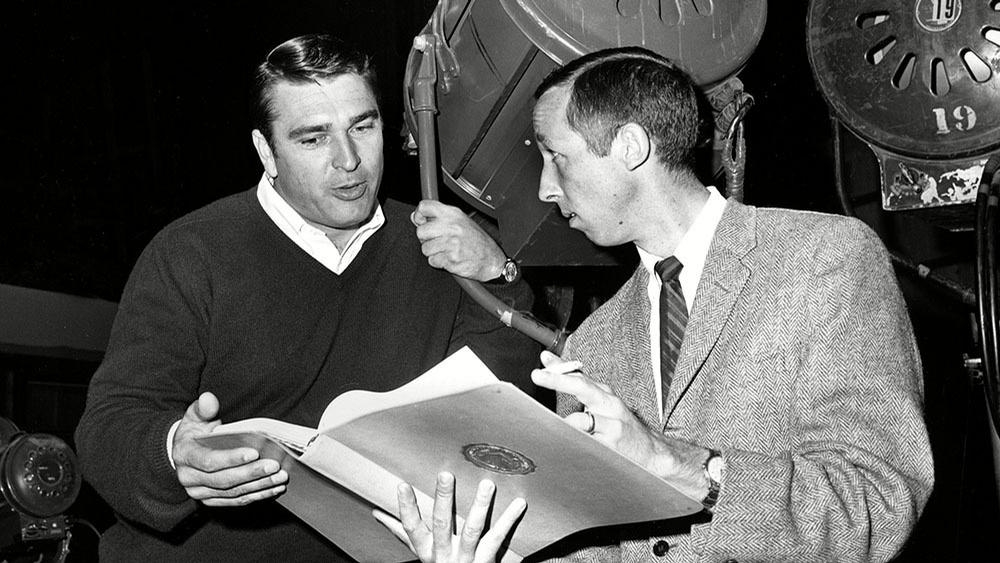 Ron Miller (left) worked his way up the Disney organisation through various roles, eventually becoming CEO / AP/Rex/Shutterstock