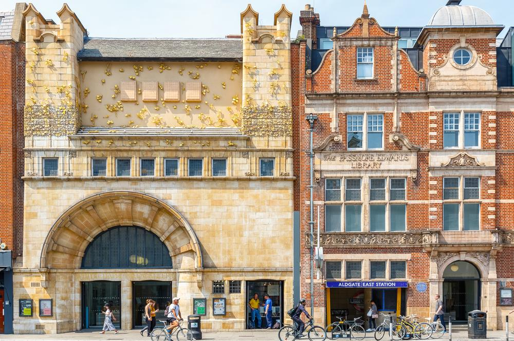 The Whitechapel Gallery, London – one of ACE's MPMs / Shutterstock.com