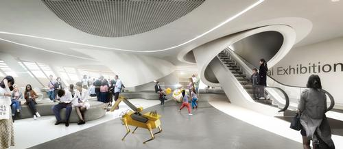 RSM is scheduled to open in 2022. / Courtesy of Melike Altinisik Architects