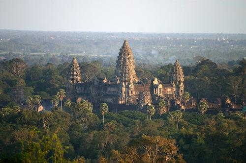 The FCC Angkor will be located a stone's throw from the picturesque and jungle-covered Angkor Wat temple complex. / Photo via Wikimedia Commons