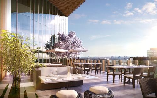 Manhattan Loft Gardens will also provide panoramic views of Olympic Park. / Courtesy of Manhattan Loft Corporation