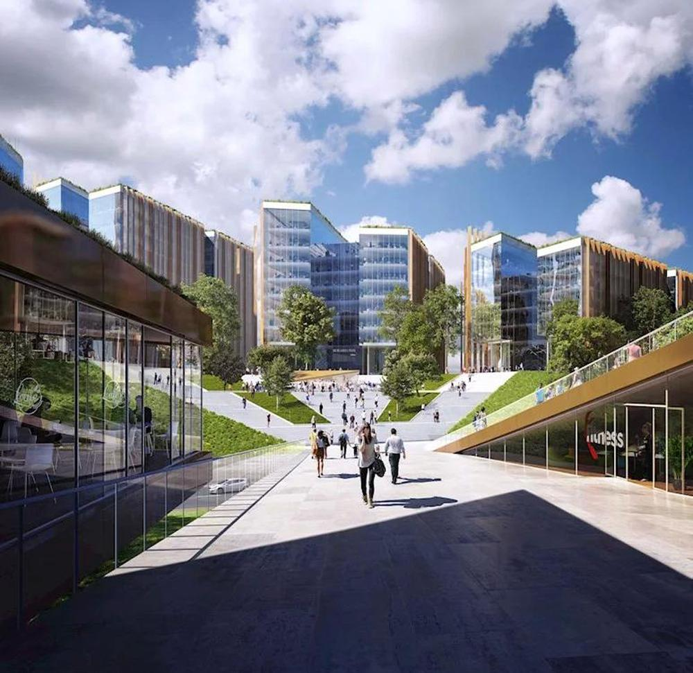The mixed-use project has been designed to fund the stadium project and will include leisure facilities, offices, retail units, restaurants and a 300-bedroom hotel