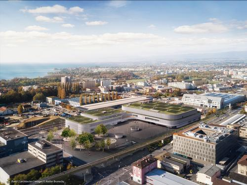 The facility is expected to be completed by the end of 2019. / Rendering by Atelier Brunecky