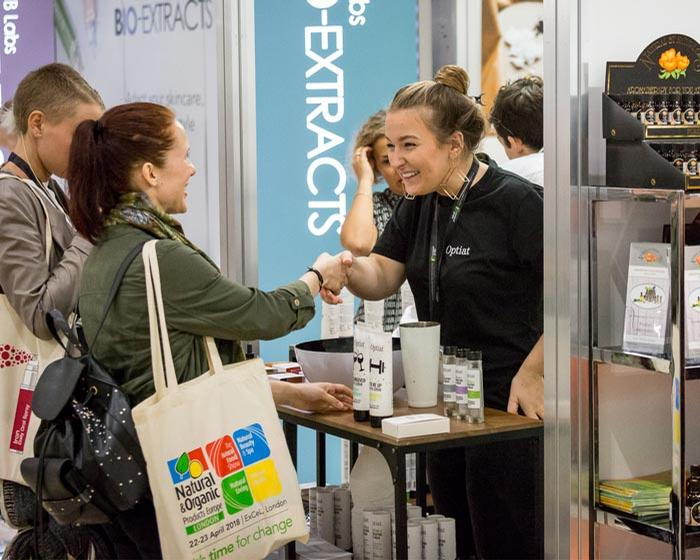 The Natural Beauty & Spa Show is being held at Excel London between 7 & 8 April