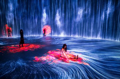 teamLab's installation will run until 24 August. / Courtesy of OPEN Architecture
