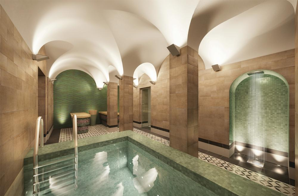 The Turkish baths date back to 1838