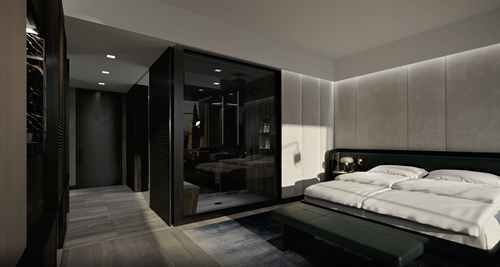 In-room wellness services will include temperature-regulating beds and sleep-enhancing toolkits. / Courtesy of Equinox