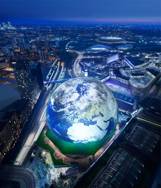 The entire campus – expected to become a leisure and commercial district – will feature restaurants, a nightclub, parks, and retail areas. / Courtesy of The Madison Square Garden Company