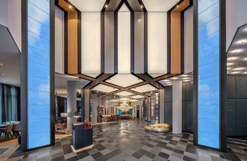 Jost Hurler Group collaborated with Hyatt to develop the property. / Courtesy of Concrete