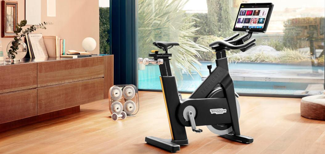 The first piece of kit to be integrated into the Technogym Live platform is the Technogym Bike